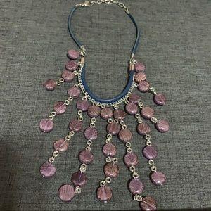 Mauve/lavender  necklace